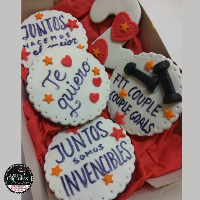 Set de 5 galletas...