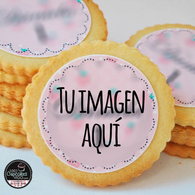 Galletas con oblea de papel...