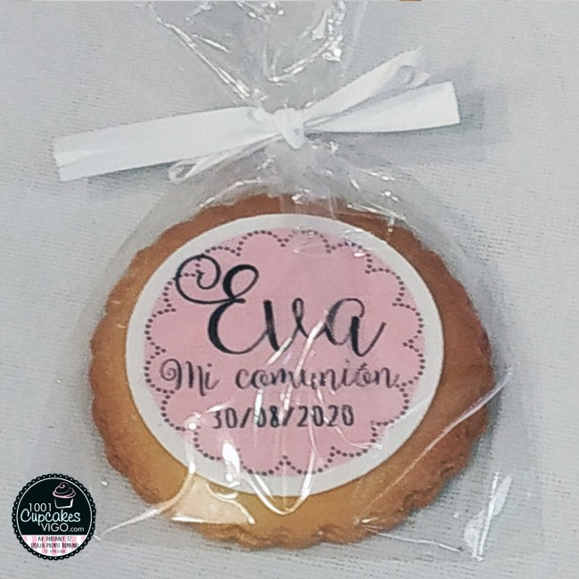 Galleta de papel comestible...