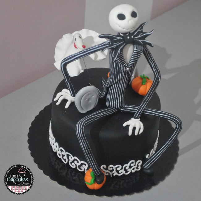 Tarta Jack Skellington